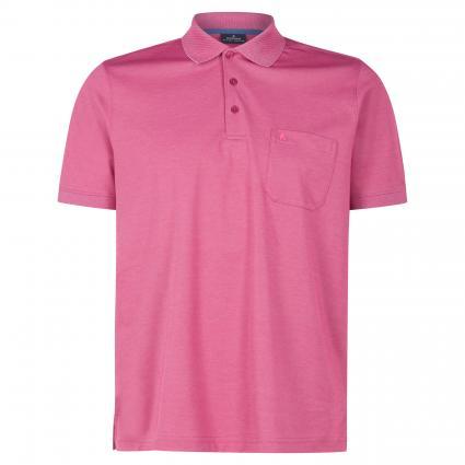 Poloshirt mit Brusttasche pink (641 Pink) | XL