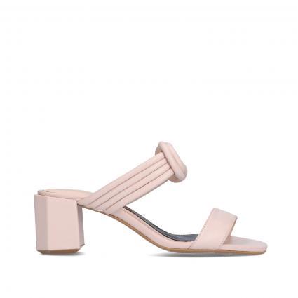 Sandaletten aus Leder beige (NUDE) | 41