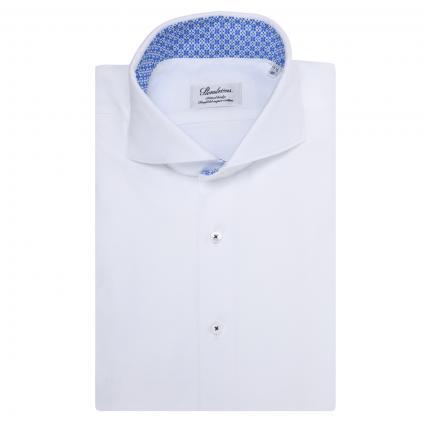Regular-Fit Hemd aus reiner Baumwolle weiss (000 weiss) | 39