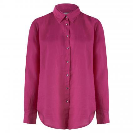 Bluse 'Sanja' aus Leinen pink (1425 pink) | M