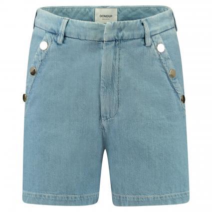 Shorts aus Denim mit Metalldetails blau (800) | 27