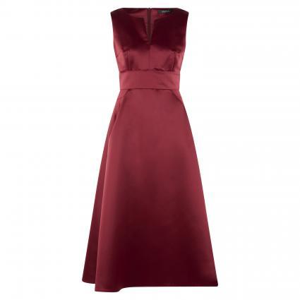 Cocktailkleid aus glänzendem Satin rot (610 rio red) | 40