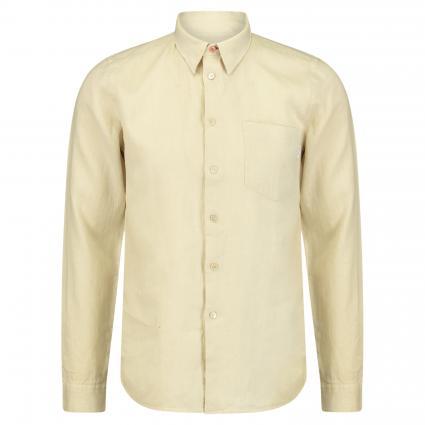Slim-Fit Hemd aus Leinen ecru (60 nature) | L
