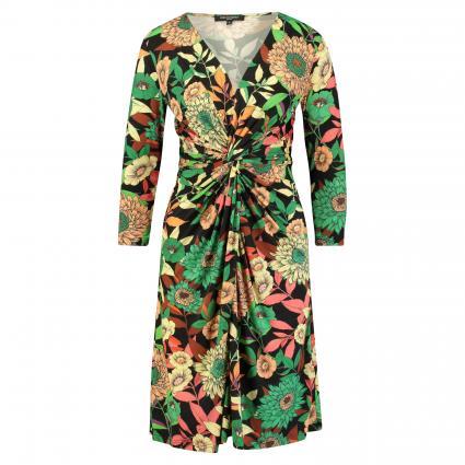 Kleid 'Nice' mit Drapierung divers (001 black) | S