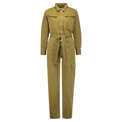 Overall aus Denim oliv (ARMY GREEN AG09) | 36