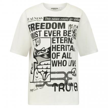 Printshirt 'Vews' weiss (WHITE WH00) | M