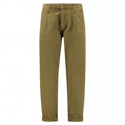 Jeans 'Vigi' mit Bundfalten oliv (ARMY GREEN AG09) | 25 | 26