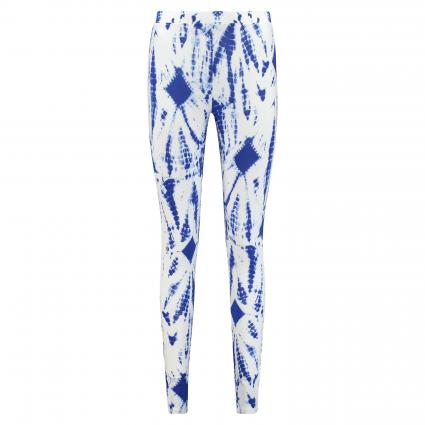 Leggings mit Musterung blau (COMBO2 PALACE BLUE ) | 38