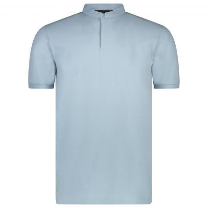 Polohemd 'Louis' mit Stehkragen  blau (3900) | L