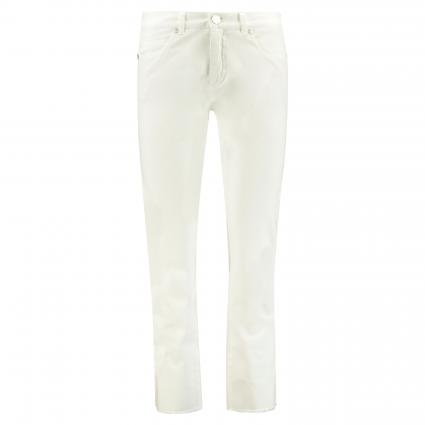 Cropped Jeans 'Claire' weiss (110 weiß) | 40