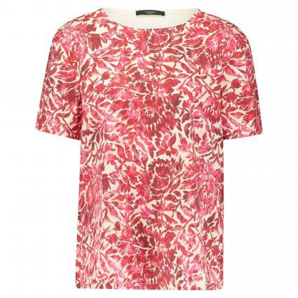 T-Shirt 'Corfu' mit floralen Print pink (001 pink) | S