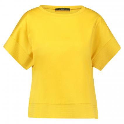 T-Shirt 'Meandro' mit Nahtdetails gelb (007 gelb) | L