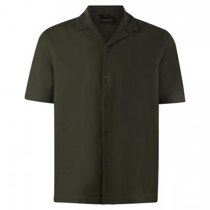T-Shirt mit Struktur  oliv (836) | M