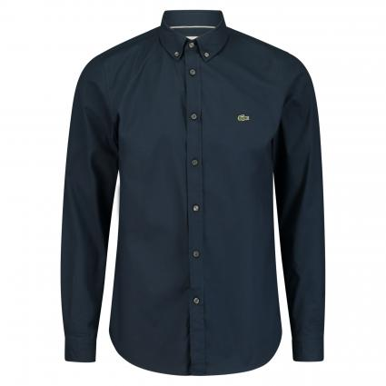 Slim-Fit Hemd mit Button-Down Kragen marine (166 Navy) | 41