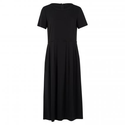 Kleid mit Rundhalsausschnitt  schwarz (320 black) | 40