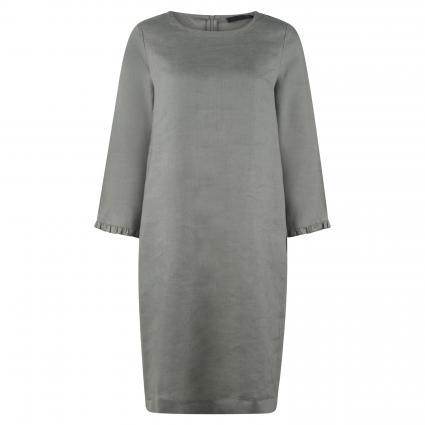 Kleid aus Leinen oliv (379 artichoke) | 42