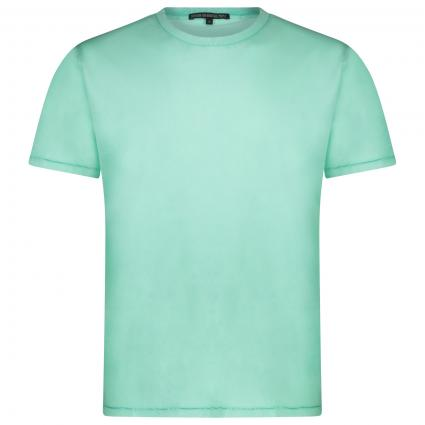 T-Shirt 'Las' im Used-Look grün (2700)   L