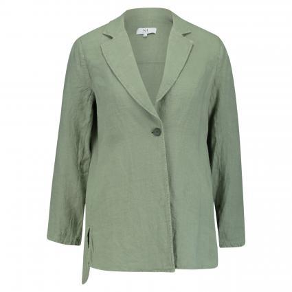Casual-Blazer aus Leinen  oliv (7 khaki) | 44