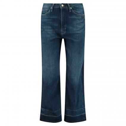 Lockere Jeans mit offenem Saum marine (4020 dark blue) | 29