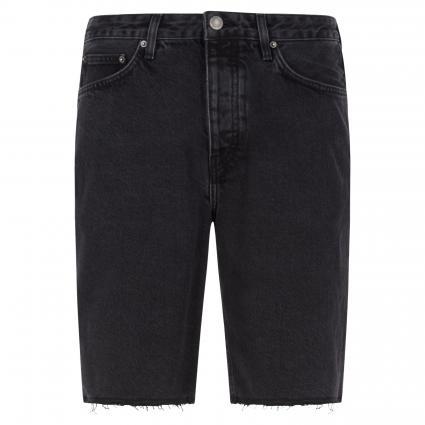 Jeans Bermuda anthrazit (black poivre) | 33