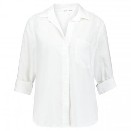 Bluse aus Lyocell  weiss (27 WHITE) | L