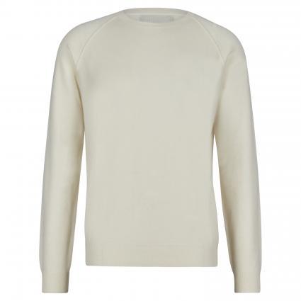 Pullover mit Rundhalsausschnitt ecru (C 312 Ivory) | XL