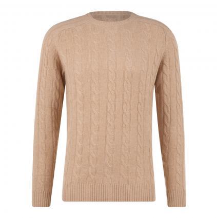 Pullover aus Cashmere beige (ZA310190 Beige ) | L
