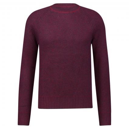 Pullover aus Cashmere bordeaux (FX43390/FX533370 Bordeaux/Navy) | XXXL