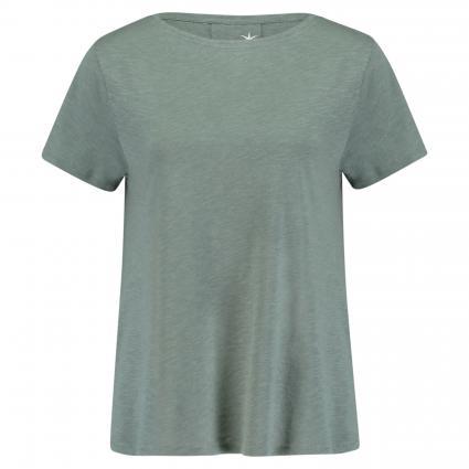 Basic T-Shirt grün (450 pine) | S