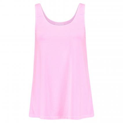 Unifarbenes Basic Top pink (722 neon pink) | L