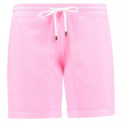 Sweatshorts mit elastischem Bund pink (722 neon pink)   XS