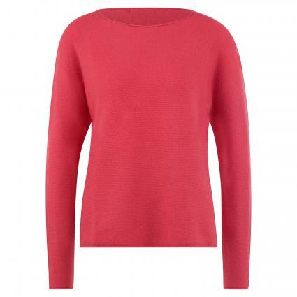 Pullover mit Rollkanten pink (5286 bright pink)   M
