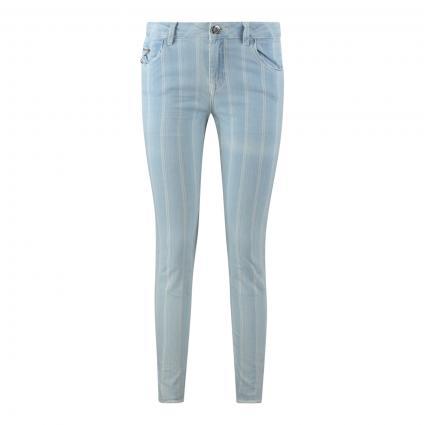 Jeans 'Sumner Fever' mit Streifenmuster blau (456 INDIGO STRIPE, A) | 26
