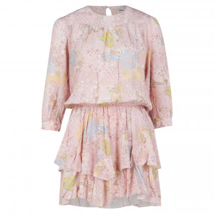 Kleid 'Rooka' mit Volantdetails beige (CREPUSCULE) | L