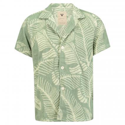Hemd aus Baumwolle grün (13 banana leaf)   S