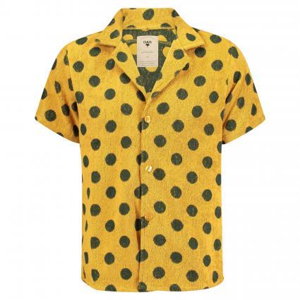Hemd aus Baumwolle gelb (16 honey dot) | M