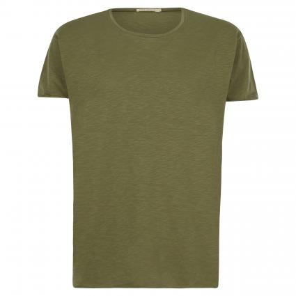 T-Shirt 'Roger' mit leichter Struktur grün (green ) | S