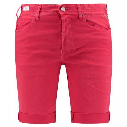 Denim Shorts mit Knopfleiste rot (555) | 30