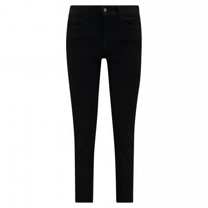 Slim-Fit Jeans 'Roxanne' schwarz (BLACK) | 30