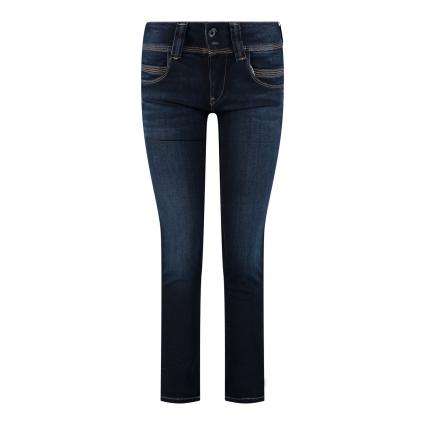 Straight-Leg Jeans 'Venus' blau (H06) | 25 | 32