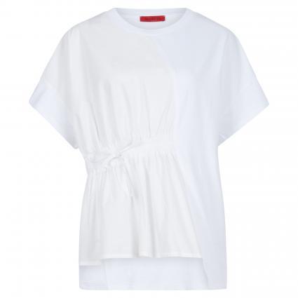 Blusenshirt aus Baumwolle weiss (001) | S