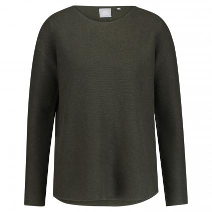 Oversized Pullover aus Cashmere oliv (khaki) | S