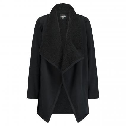 Jacke mit Teddyfell schwarz (1001 black)   S