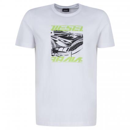 T-Shirt 'Diegos' aus Baumwolle weiss (100 white) | M