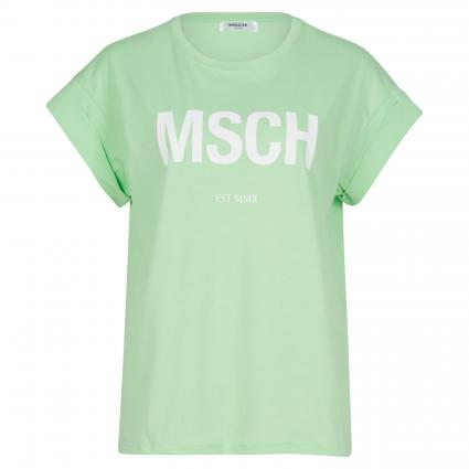 T-Shirt mit Print grün (GREEN/WHITE) | S