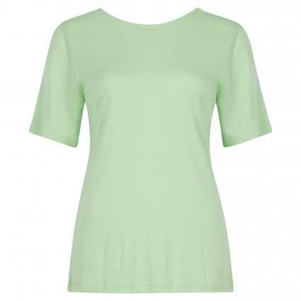 T-Shirt mit Rundhalsausschnitt grün (PISTACHIO GREEN) | L