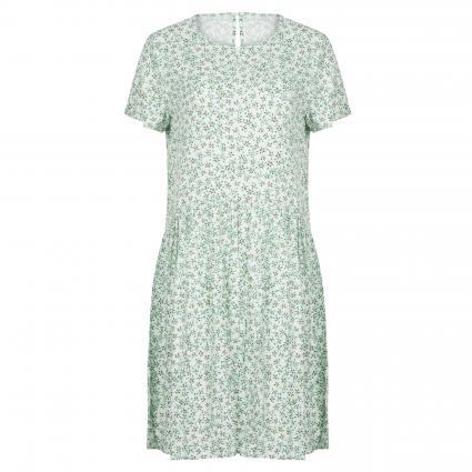 Kleid 'Inaya' mit Blumenmuster grün (GREEN FLOWER) | XS