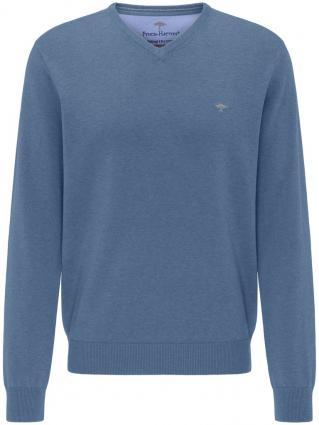 Pullover mit V-Ausschnitt blau (635 Indigo) | M