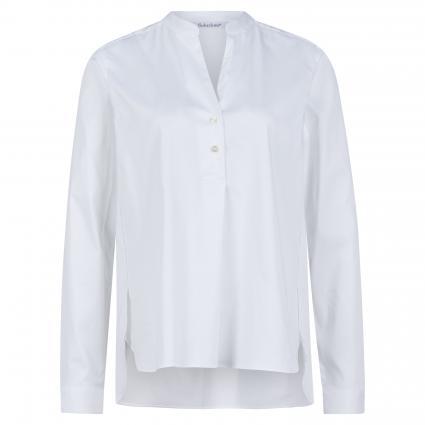 Bluse mit V-Ausschnitt weiss (10 weiß) | 34