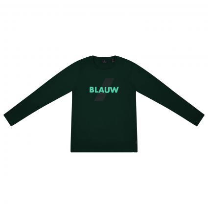 Langarm Shirt mit Print  grün (1156)   164